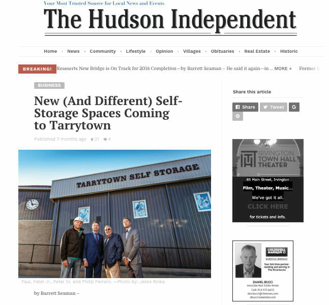 New and Different Self Storage In Tarrytown