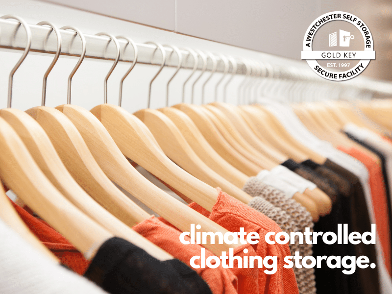 climate controlled clothing storage Bedford
