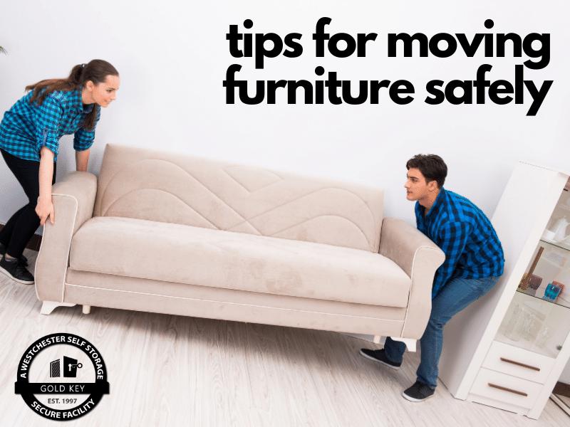 tips for moving furniture Peekskill Self Storage